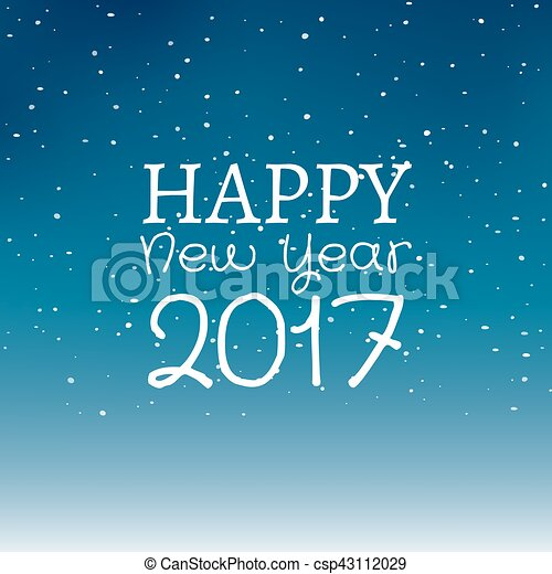 New Year Greeting Card Designs 2017