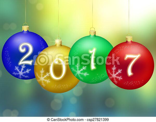 Happy New Year 2017 - csp27821399