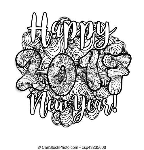 Happy New Year Doodle 68