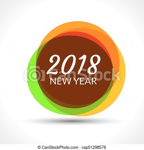 happy new year 2018 abstract banner background 2018 greeting celebration
