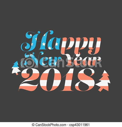 happy new year 2018 csp43011961