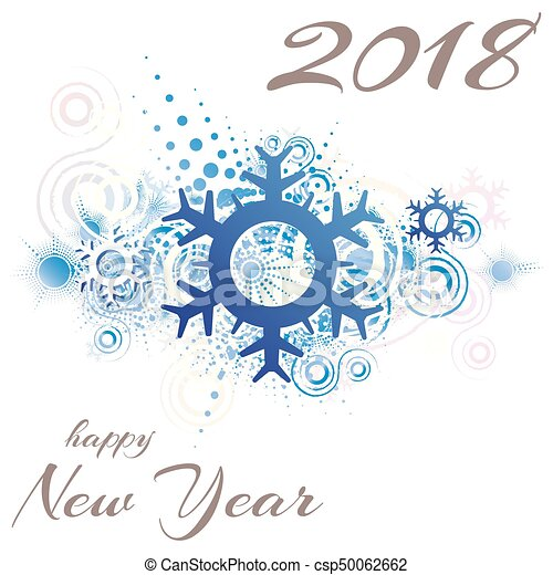 happy new year 2018 csp50062662