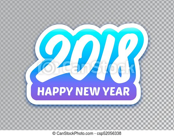 Happy New Year Transparent Background 85