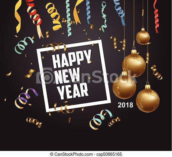 Happy New Year Flat Design 84