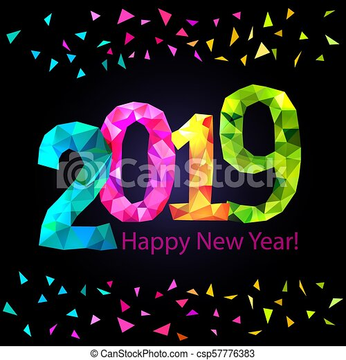 happy new year 2019 csp57776383