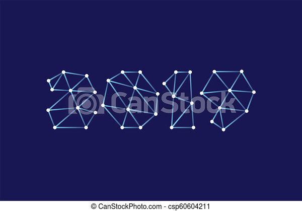 Happy new year 2019 greeting card design vector happy new year 2019 greeting card design vector m4hsunfo