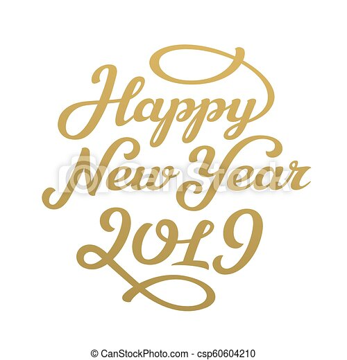 Happy New Year Lettering Design 8