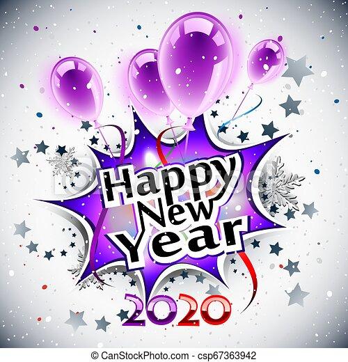 Happy New Year 2020 - csp67363942