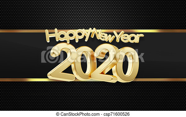 Happy New Year 2020 HD Wallpaper 1920*1080p 3d Free Download