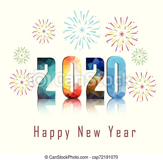 Happy New Year Clipart 2020 94