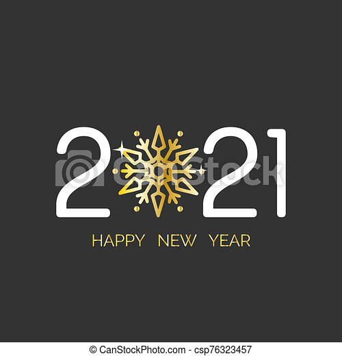 happy new year 2021 snowflake greetings card happy new year 2021 gold snowflake greetings card with gold handwritten https www canstockphoto com happy new year 2021 snowflake 76323457 html