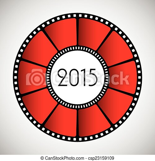 Happy New Year abstract background, 2015 - csp23159109