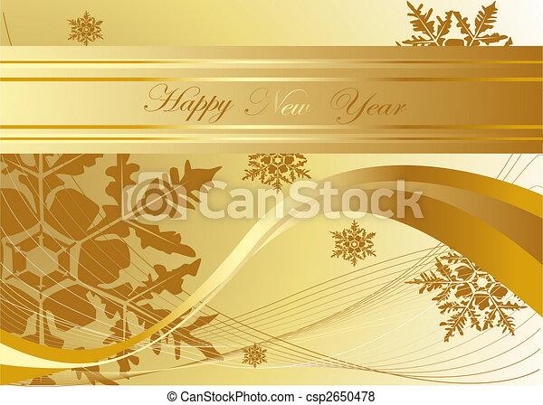 Happy New Year background - csp2650478