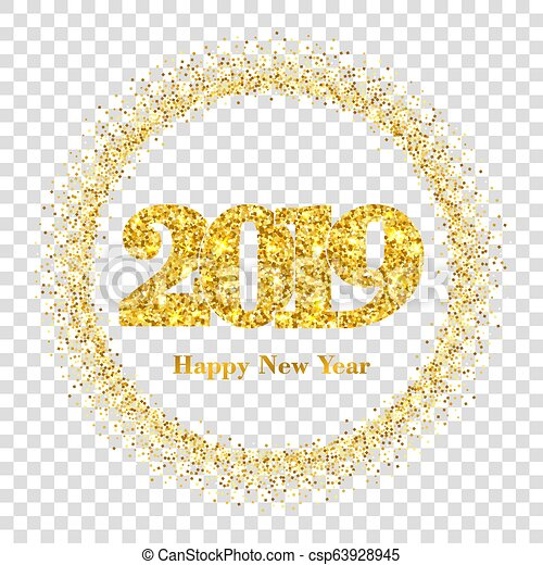 Happy New Year Transparent Background 81