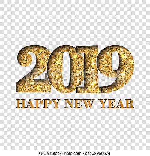 Happy New Year Transparent 48