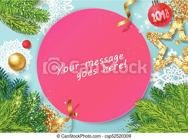 happy new year card csp52520309