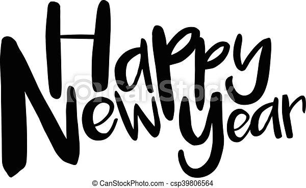 Happy New Year - csp39806564