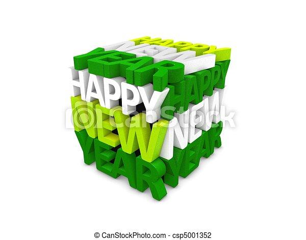 Happy new year - csp5001352