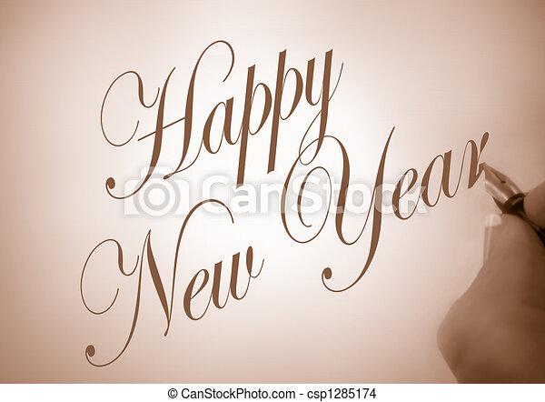 happy new year - csp1285174
