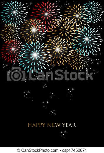 Happy New Year Editing Background 15