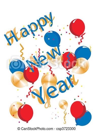 happy new year generic illustration