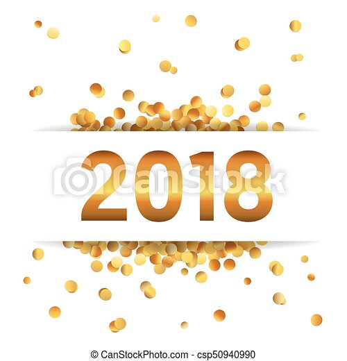 Happy new year golden glitter background for your greetings card ...