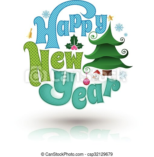 happy new year greeting card vectors illustration search clipart rh canstockphoto com