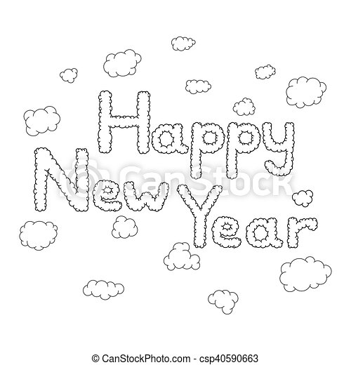 Happy New Year Doodle 56