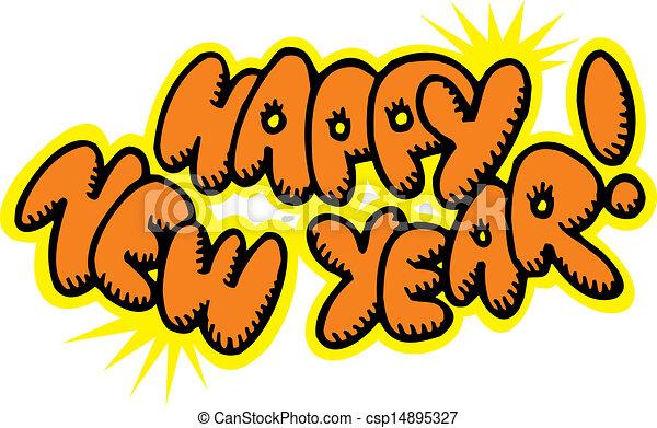 happy new year - csp14895327