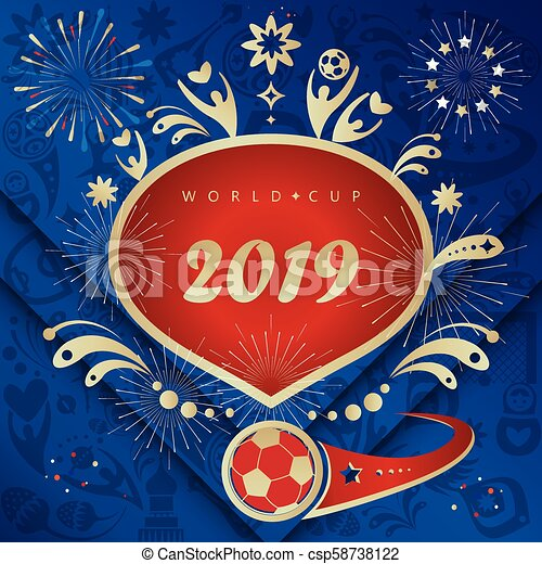 Happy New Year! Soccer Competition Winner 2019 vector