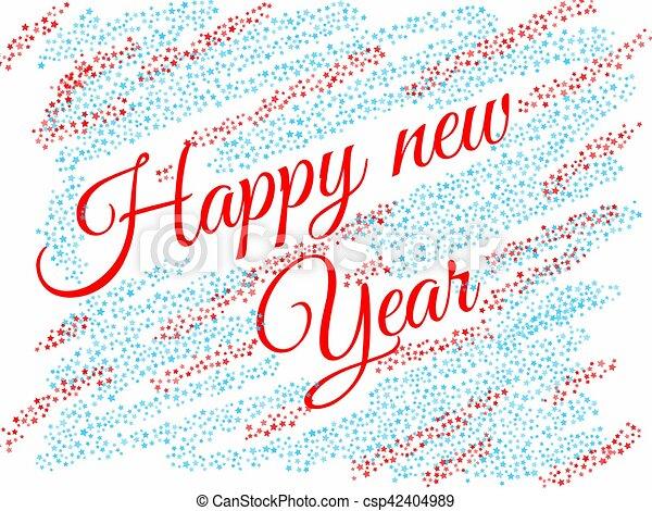 happy new year - csp42404989