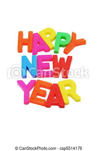 Happy New Year - csp5514176