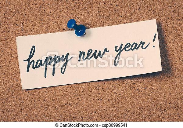 happy new year - csp30999541