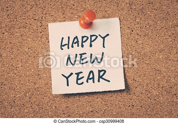 happy new year - csp30999408