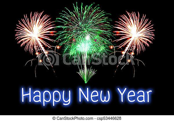 Happy New Year Fireworks 91