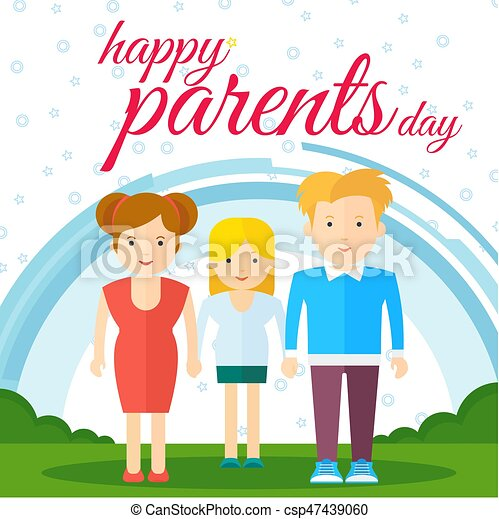 Happy Parents Day   Csp47439060