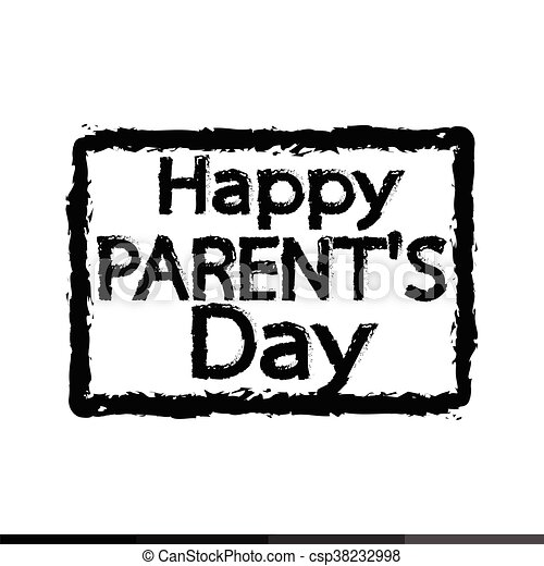 Happy Parents Day Illustration Design