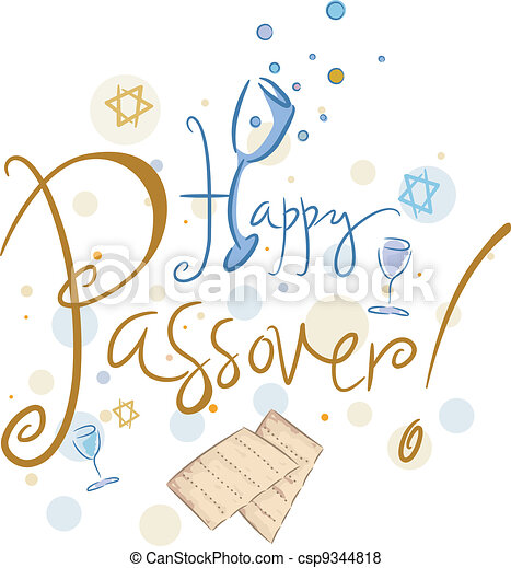 Happy Passover - csp9344818