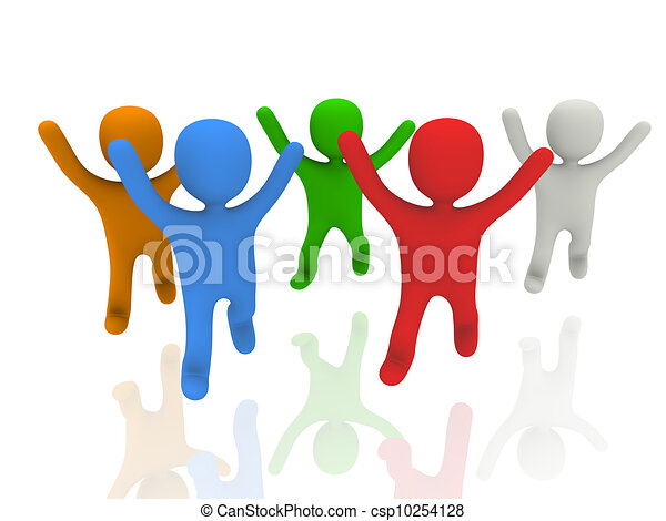 happy people concept clip art search illustration drawings and rh canstockphoto com Happy Face Clip Art Happy People Eating