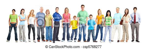 Happy people - csp5768277
