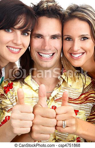 happy people - csp4751868