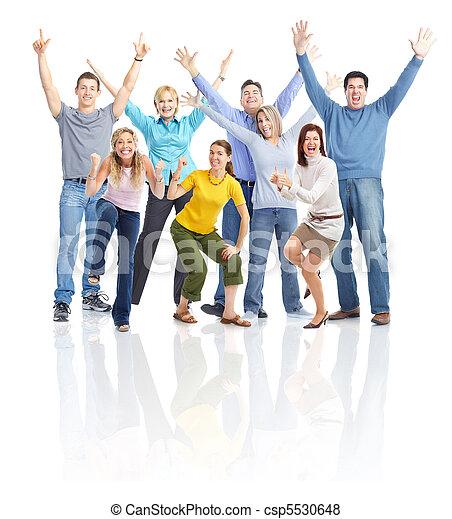 Happy people - csp5530648