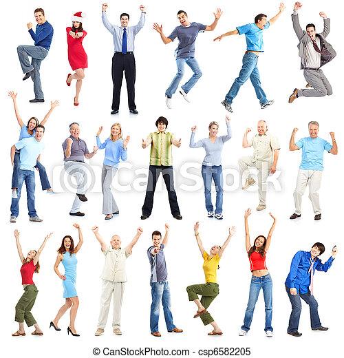 Happy people - csp6582205