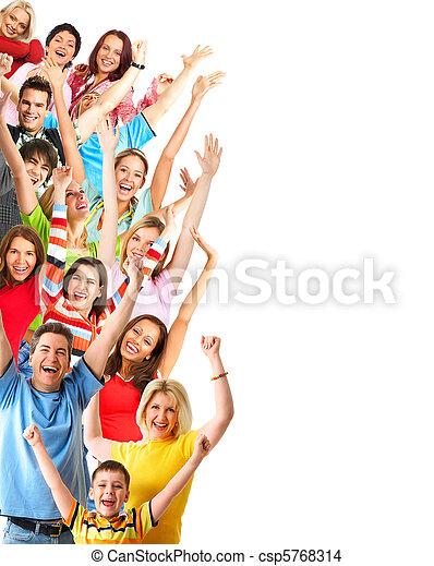 Happy people - csp5768314