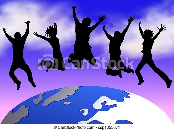 happy people world clipart search illustration drawings and