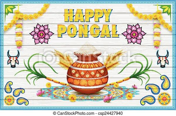 Illustration of happy pongal greeting background eps vector search happy pongal greeting background csp24427940 m4hsunfo Choice Image