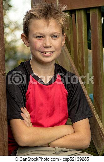 Teen boy model