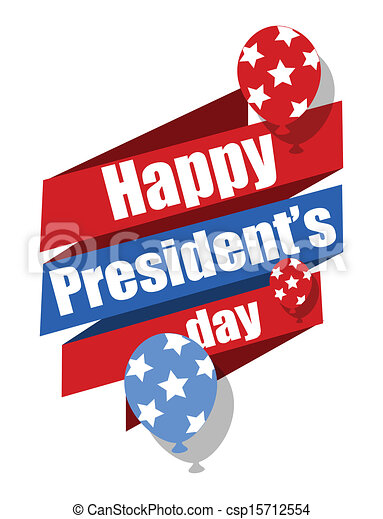 happy presidents day vector graphic illustration rh canstockphoto ca presidents day clip art 2018 presidents day clip art cherry tree