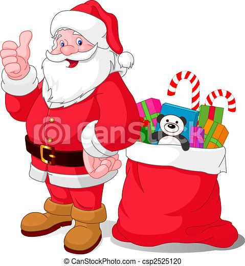 Happy Santa - csp2525120