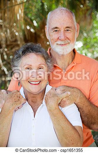 Happy Senior Couple - csp1651355
